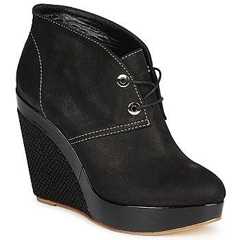 Παπούτσια Γυναίκα Χαμηλές Μπότες Gaspard Yurkievich C4-VAR8 Black