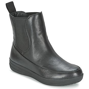 Παπούτσια Γυναίκα Μπότες FitFlop FF-LUX CHELSEA BOOT Black