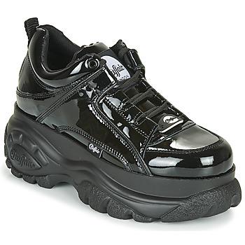 Παπούτσια Γυναίκα Χαμηλά Sneakers Buffalo 1339 Black / Vernis
