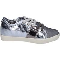Παπούτσια Κορίτσι Χαμηλά Sneakers Enrico Coveri BR260 Ασήμι