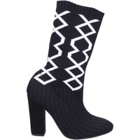 Παπούτσια Γυναίκα Μπότες για την πόλη Nacree Μπότες αστραγάλου BR272 Μαύρος