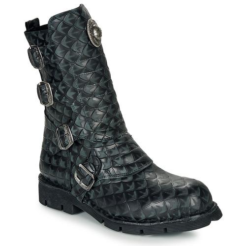 Παπούτσια Μπότες New Rock M-373X Black