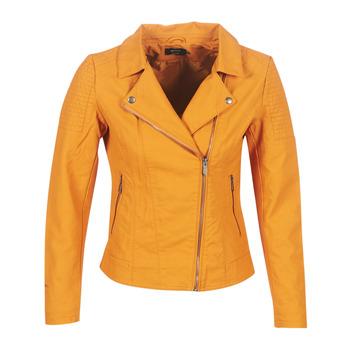 Υφασμάτινα Γυναίκα Δερμάτινο μπουφάν Only ONLMEGAN Yellow