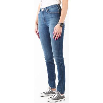Υφασμάτινα Γυναίκα Skinny jeans Lee Scarlett High L626SVMK navy