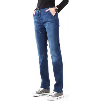 Υφασμάτινα Γυναίκα Skinny jeans Wrangler Slouchy Cosy Blue W27CGM82G navy