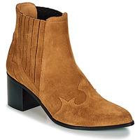 Παπούτσια Γυναίκα Μποτίνια Emma Go BROOKLYN Cognac