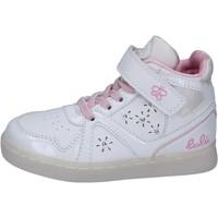 Παπούτσια Κορίτσι Ψηλά Sneakers Lulu BR351 λευκό