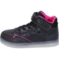 Παπούτσια Κορίτσι Ψηλά Sneakers Lulu BR353 Μαύρος