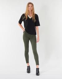 Υφασμάτινα Γυναίκα Παντελόνια Πεντάτσεπα Vero Moda VMSEVEN Kaki
