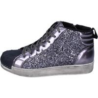 Παπούτσια Κορίτσι Ψηλά Sneakers Holalà BR385 Γκρί