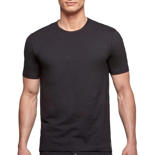 Υφασμάτινα Άνδρας T-shirt με κοντά μανίκια Impetus 1363002 020 Black