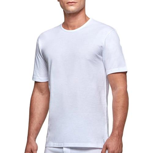 Υφασμάτινα Άνδρας T-shirt με κοντά μανίκια Impetus 1363002 001 Άσπρο