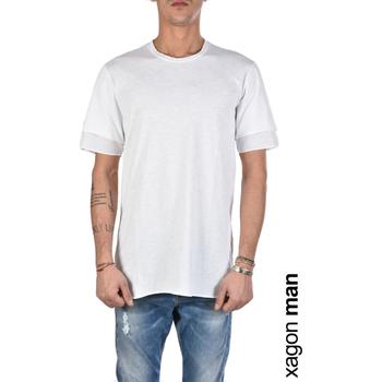 Υφασμάτινα Άνδρας T-shirt με κοντά μανίκια Xagon Man  Άσπρο