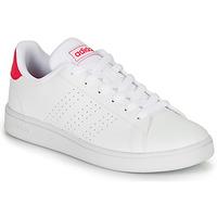 Παπούτσια Κορίτσι Χαμηλά Sneakers adidas Originals ADVANTAGE K JU Άσπρο