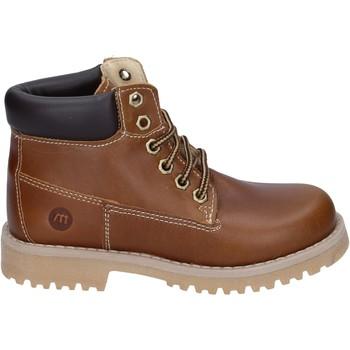 Παπούτσια Αγόρι Μπότες Melania stivaletti pelle Marrone