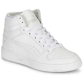 Παπούτσια Παιδί Ψηλά Sneakers Puma REBOUND LAYUP B Άσπρο