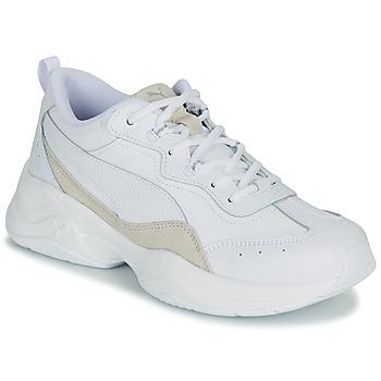 Παπούτσια Γυναίκα Χαμηλά Sneakers Puma CILIA LUX Άσπρο