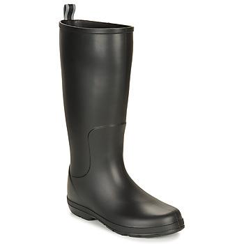 Παπούτσια Άνδρας Μπότες βροχής Isotoner 96523 Black
