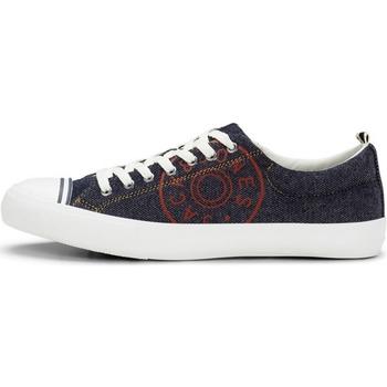 Xαμηλά Sneakers Jack & Jones 12150476 JFWHAYLE DENIM PRINT NAVY BLAZER [COMPOSITION_COMPLETE]
