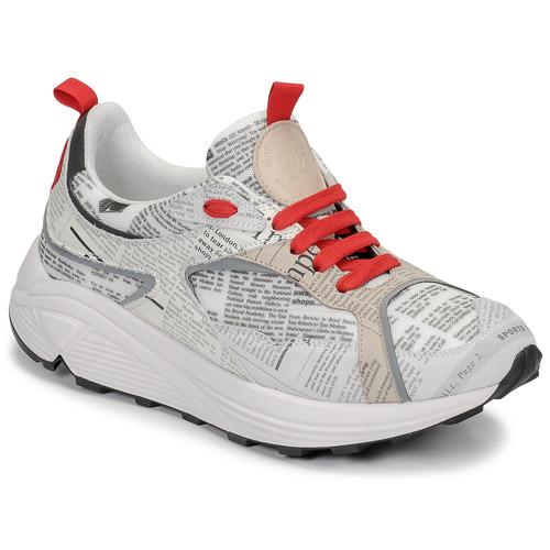 Παπούτσια Άνδρας Χαμηλά Sneakers John Galliano 8516 Grey