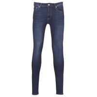 Υφασμάτινα Άνδρας Skinny jeans Jack & Jones JJILIAM Μπλέ