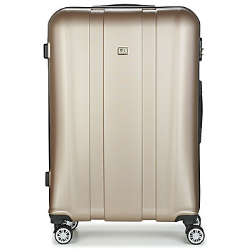 Τσάντες Valise Rigide David Jones CHAUVETTO 107L Gold