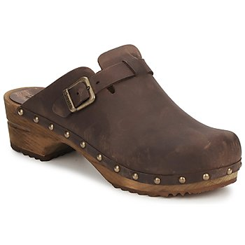 Παπούτσια Γυναίκα Σαμπό Sanita KRISTEL OPEN Brown