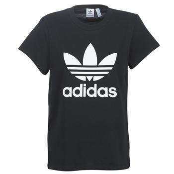 Υφασμάτινα Γυναίκα T-shirt με κοντά μανίκια adidas Originals BOYFRIEND TEE Black