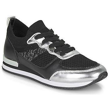 Παπούτσια Γυναίκα Χαμηλά Sneakers André BETTIE Black / Argentée
