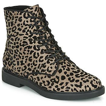 Παπούτσια Γυναίκα Μπότες André NERON Grey