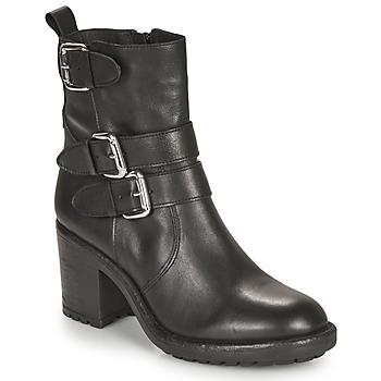 Παπούτσια Γυναίκα Μπότες André NASHUA Black