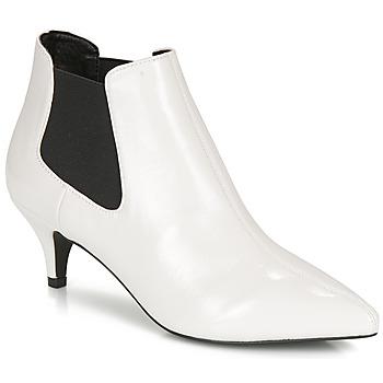 Παπούτσια Γυναίκα Μποτίνια André LUCIANA Άσπρο