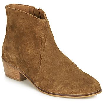Παπούτσια Γυναίκα Μπότες André ELEANA Camel