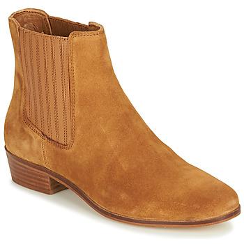 Παπούτσια Γυναίκα Μπότες André ECUME Camel