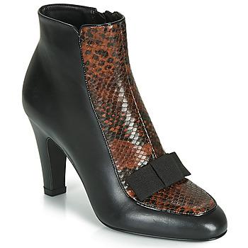 Παπούτσια Γυναίκα Μποτίνια André LA DISCRETE Black