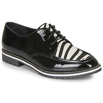 Παπούτσια Γυναίκα Derby André CHARLELIE Black / Motif