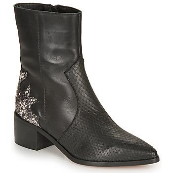 Παπούτσια Γυναίκα Μποτίνια André LA ROCKABILLY Black