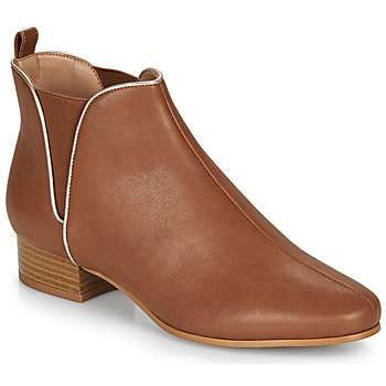 Παπούτσια Γυναίκα Μπότες André VERVEINE Camel