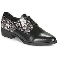 Παπούτσια Γυναίκα Derby André NOUGATINE Black / Motif