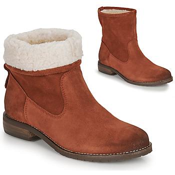 Παπούτσια Γυναίκα Μπότες André ERIKA Orange