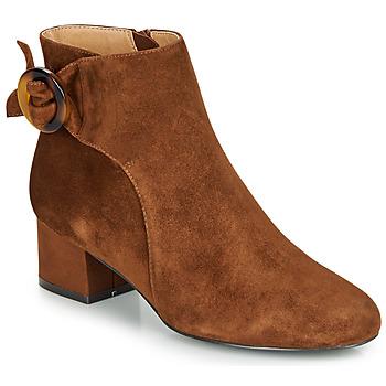Παπούτσια Γυναίκα Μποτίνια André LOUISON Cognac