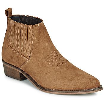 Παπούτσια Γυναίκα Μπότες André MANA Camel