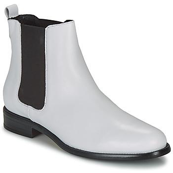 Παπούτσια Γυναίκα Μπότες André CARAMEL Άσπρο