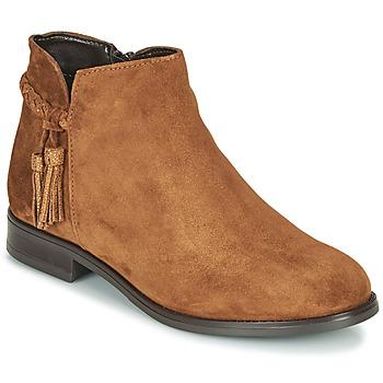 Παπούτσια Γυναίκα Μπότες André MILOU Camel