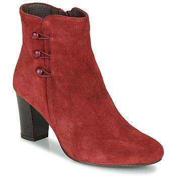 Παπούτσια Γυναίκα Μπότες André MAJESTEE Red