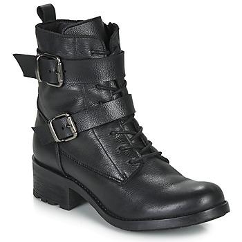 Παπούτσια Γυναίκα Μπότες André NIMA Black