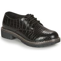 Παπούτσια Γυναίκα Derby André NEBULEUSE Black / Motif