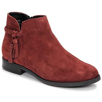Παπούτσια Γυναίκα Μπότες André MILOU Red