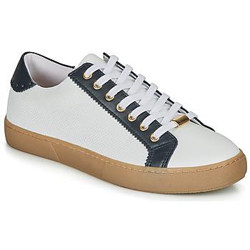 Παπούτσια Γυναίκα Χαμηλά Sneakers André BERKELEY Άσπρο / Motif