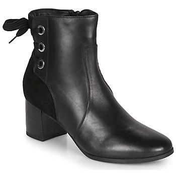 Παπούτσια Γυναίκα Μποτίνια André MANON Black